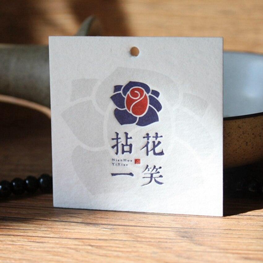 ZeQi ใหม่แฟชั่น hang tag พิมพ์เสื้อผ้าหมวดหมู่ที่กำหนดเองป้ายกระดาษแท็ก swing ผ้าฝ้าย-ใน แท็กเสื้อผ้า จาก บ้านและสวน บน   2