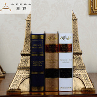 European Eiffel Tower decoration crafts Bookends study resin