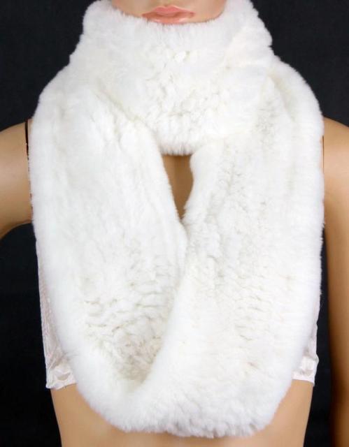 c06f423ed High quality Warm winter fashion snow white Luxury plushh genuine rex  rabbit Fur shawls , brand