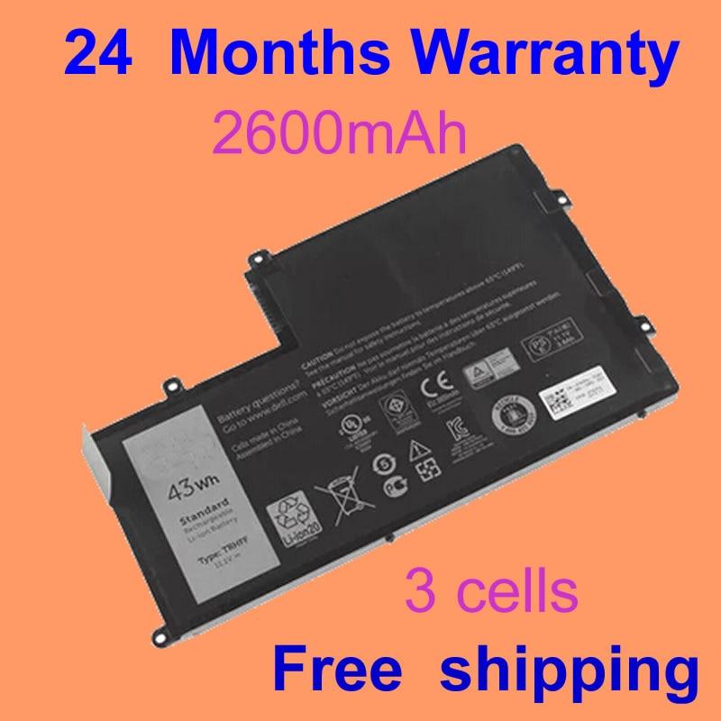 JIGU Laptop Battery For Dell Inspiron 15 5000 15 5547 for Latitude 3450 for Vostro 14-5480D 1V2F6 TRHFF 01v2f6 3 cells laptop battery for dell for latitude 3450 for vostro 14 5480d 1v2f6 trhff 01v2f6 for inspiron 15 5000 15 5547