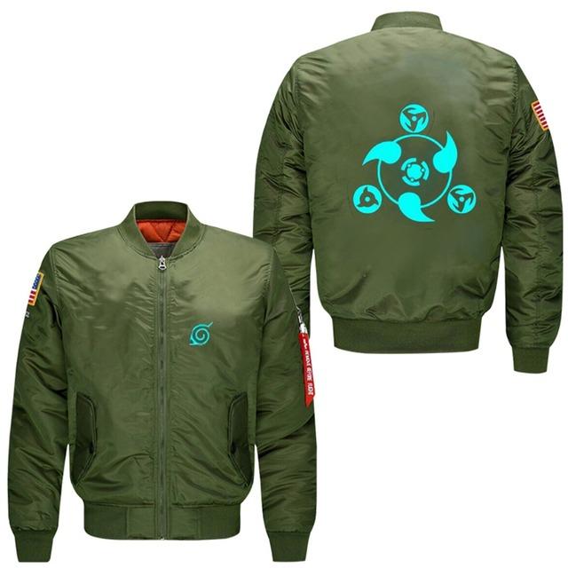 Hatake Kakashi Symbol Bomber Jacket