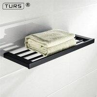Customized304 Stainless Steel Black Towel Rack Bathroom Toilet Towel Holders Wall Mount European Bathroom Acccessories Towel Bar