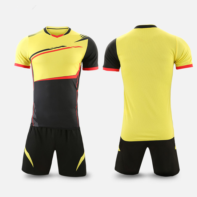 55d86c79ebc Men Survetement Football Shirts Tracksuit Volleyball Sport Kit Soccer  Jerseys Sets Uniforms Sportswear Breathable Custom Print