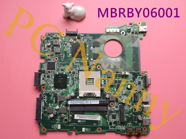 MBRBY06001 DA0ZQ9MB6C0 For Acer 4738 4738G Laptop Motherboard ATI Mobility Radeon HD 5470 Intel HM55 1GB DDR3