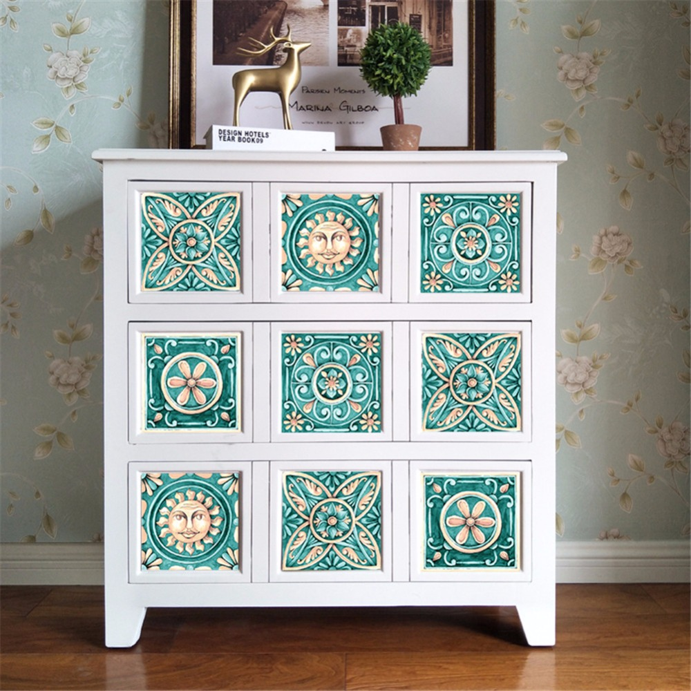 Yanqiao Italy Majolica Tile Wall Stickers Kitchen Backsplash ...