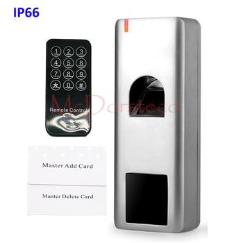 IP66 Waterproof Fingerprint Standalone Access Control wiegand output 125KHz RFID Card door lock system