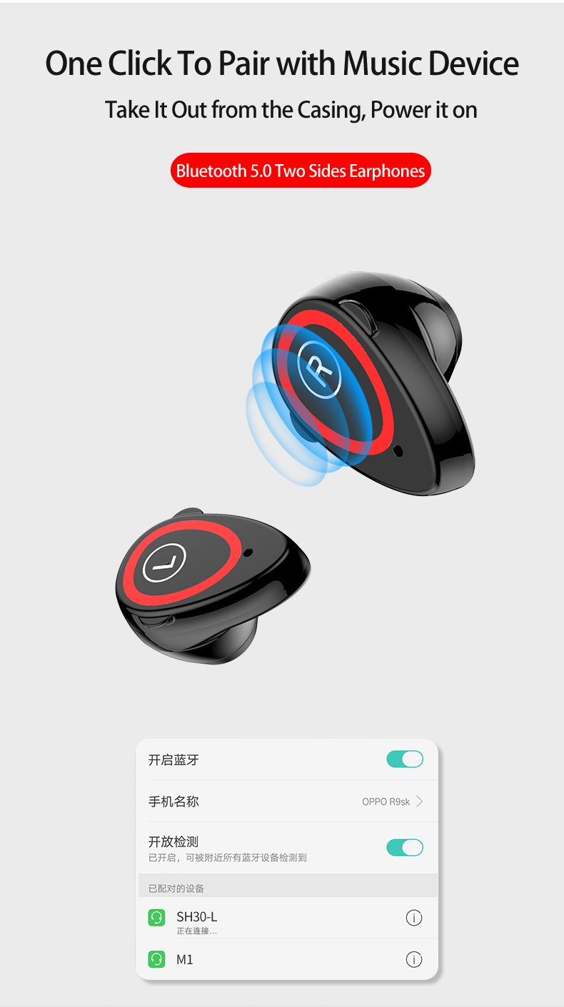 Smart Wristband with Bluetooth 5.0