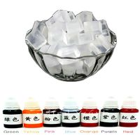 500g Transparent Glycerin Soap Base 10mlX7 Colour Special Pigments For DIY Handmade Soap