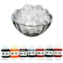 500 г прозрачный глицерин Мыло База + 10mlx7 Цвет специальные пигменты для DIY ручной работы Мыло