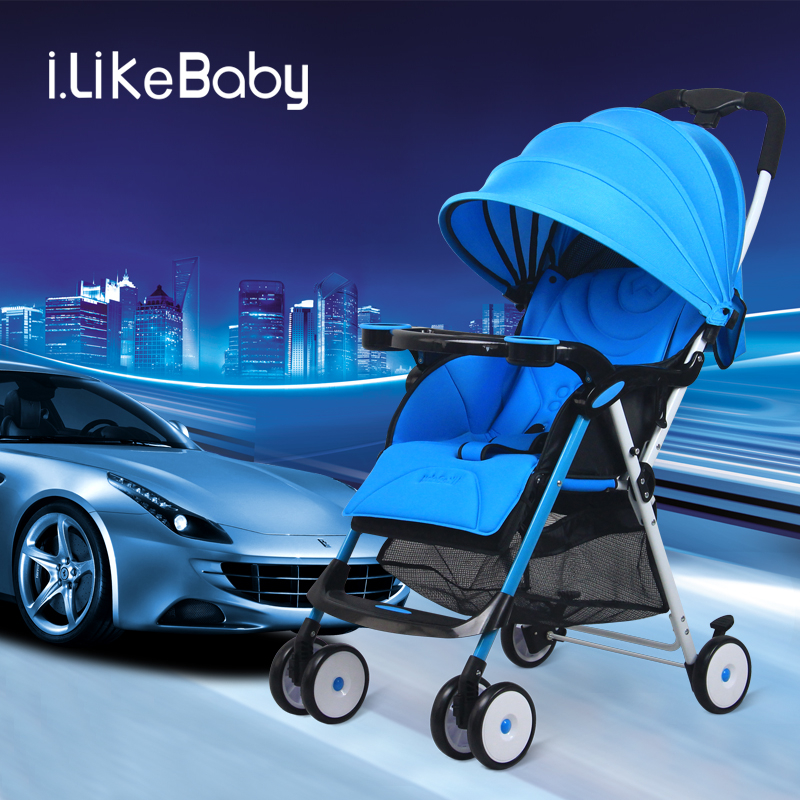 2018 Fashion Lightweight baby stroller,Baby Umbrella Cart,Portable Folding Pushchair for 0-3 Years Old,can sit & lie europe no tax 2018 yoyaplus baby stroller lightweight folding umbrella car can sit can lie ultra light portable on the airplane