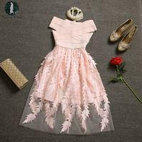 Today Plus Women Summer Beautiful Party Dress Bandage Corset Top 3D Perspecitve Gauze Ladies Princess Vestidos