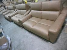 Modern living room sofa  2 3 French Designer genuine leather sofa  2+3 Sectional sofal Set   Love seat sofa 8068