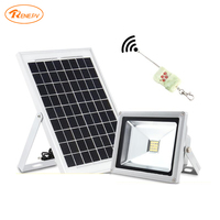 Renepv 10W solar lighting system 9V 10W panel 5050led floodlight rechargeable lamp for outdoor use