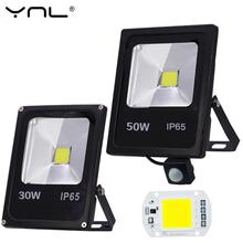Motion Sensor Led Flood Light 50W 30W 10W 220V Reflector Floodlight Lamp foco Led Exterior IP65 Waterproof Spot light Lighting