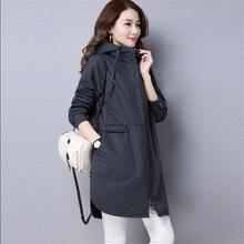 Женщины Тонкий Куртка Осень-Весна Куртки И Пальто Длинные Мода Повседневная Пиджаки Сращены Пальто Женщин Jaqueta Feminina Inverno A3331