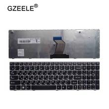 GZEELE RU Клавиатура для ноутбука LENOVO G570 G575 Z560 Z560A Z560G Z565 G570AH G570G G575AC G575AL G575GL G770 G560 Русский RU