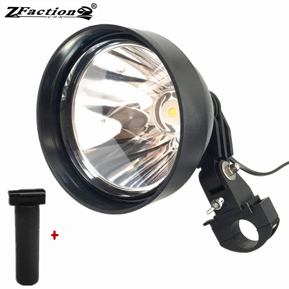 2500lm 12V USA Imported 25W Cree LED Scope Mounted Spotlight Super Spot Beam Hunting Portable Rifle