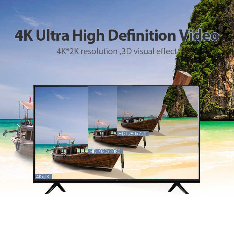 Cable HDMI vention Cable HDMI a HDMI 4K HDMI 2,0 3D 60FPS Cable Splitter TV LCD portátil PS3 proyector Cable de la computadora
