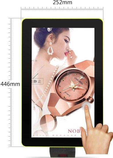 15,6-дюймовый ресторанный планшет сенсорный интерактивный lg led lcd TFT панельный дисплей цифровой сканер штрихкода для киоска вывески компьютера ПК-2