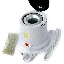 New Salon Metal Nipper Tweezer Tool Nail Art Design Clean Sterilizer Pot EU Plug