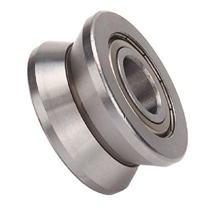 1pcs Metal V Groove Sealed Guide Wire Line Bearing Track Deep V Groove Pulley Rail Ball Bearing 15*40*18mm 10pcs u groove ball bearing bs1056u 1056uu 6200zz 6200z 6200 window and door bearing 10x56 5x27mm guide white pulley sealed rail
