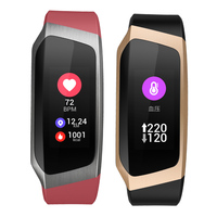 Blood Pressure Heart Rate Monitor Smart Wristband Bracelet Watch Activity GPS Track APP Fitness for Xiaomi red mi 4 Samsung S9