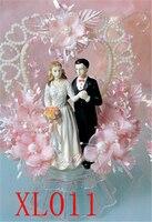 bridal flowers bride and groom wedding cake decoration doll wedding supplies wedding dolls marriage