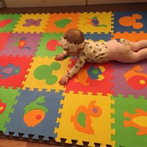 Image 4 - 10PCS Pack Baby Puzzle Mat Baby Play Mat Floor Puzzle Mat EVA Children Foam Carpet Mosaic Floor Play Mats 4 Style PX10
