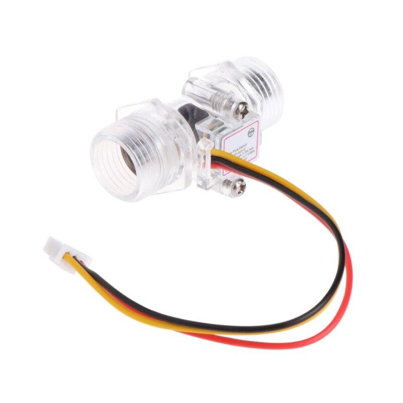 Ehrlich Wasser Fluss Sensor Schalter G1/2 halle Wirkung Meter Steuerung Dc 5-15 V Nachfrage üBer Dem Angebot Werkzeuge