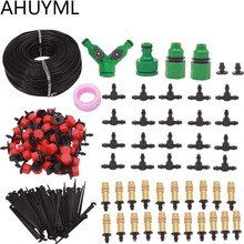 5M 25M 30M Garden Automatic Pouring Drip Irrigation System Garden Irrigation Kit Adjustable Drip Spray Watering Irrigation Set cheap Watering Kits Plastic LL-37 AHUYML Red Yellow drip irrigation spray 5M 10M 15M 20M 25M 30M
