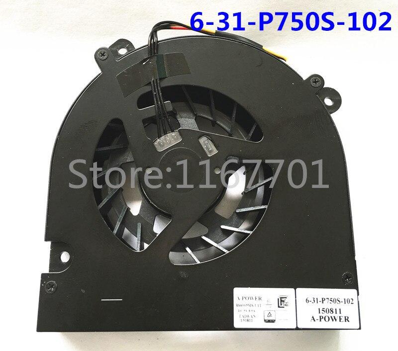 New for CLEVO X599 P750DM P750ZM P770ZM HEATSINK 6-31-p7503-103