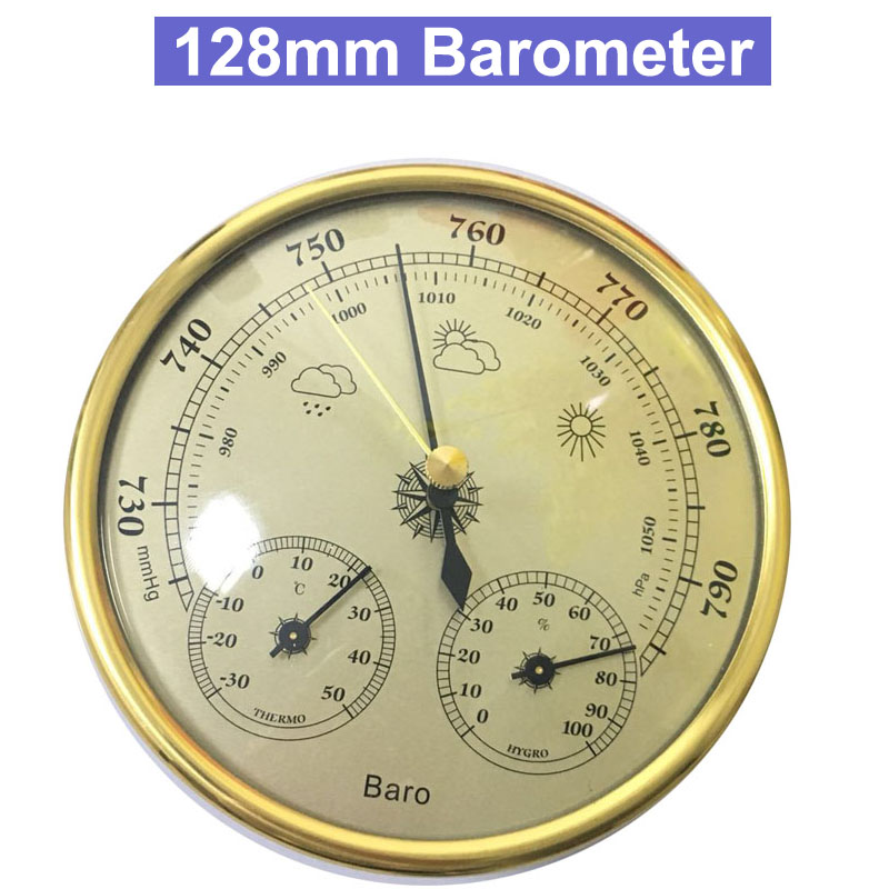 Hotsale High Accuracy Household 128mm Weather Station Barometer Thermometer Hygrometer Wall Hanging Tester Tool 3 in 1 multifunctional household weather station barometer thermometer hygrometer wall hanging hot selling 2017 9a30065