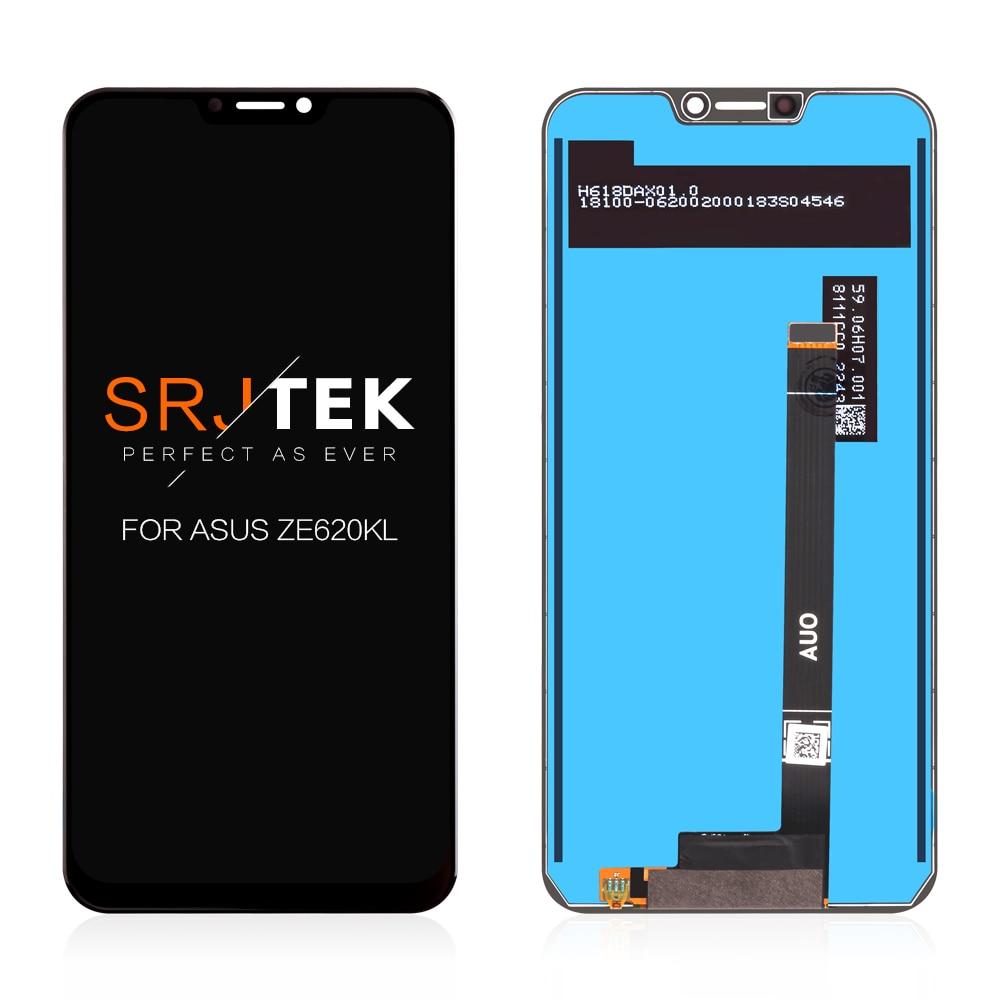 6.2 ''LCD pour ASUS ZenFone 5 ZE620KL affichage pour Zenfone 5 2018 Gamme écran tactile numériseur panneau matrice assemblage remplacement