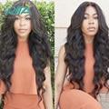 Естественный Черный Цвет Перуанский Девственные Волосы 50 г/Пучки Перуанский Объемная Волна Человеческих Волос Верхнего Качества Ткачество Тела Продукта расширения