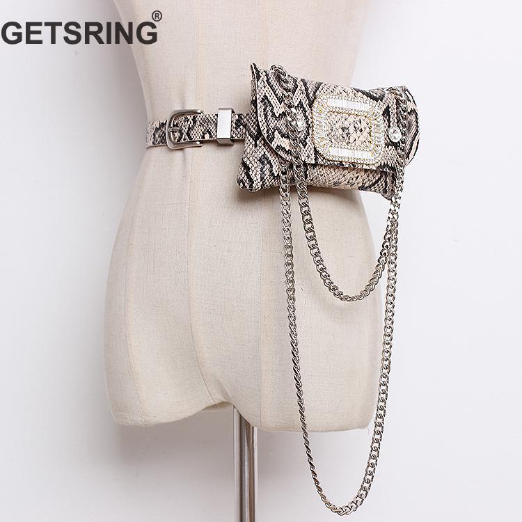 GETSRING Women Bag Woman Wait Bags Waist Pack Money Belt Fanny Pack Bags For Woman 2019