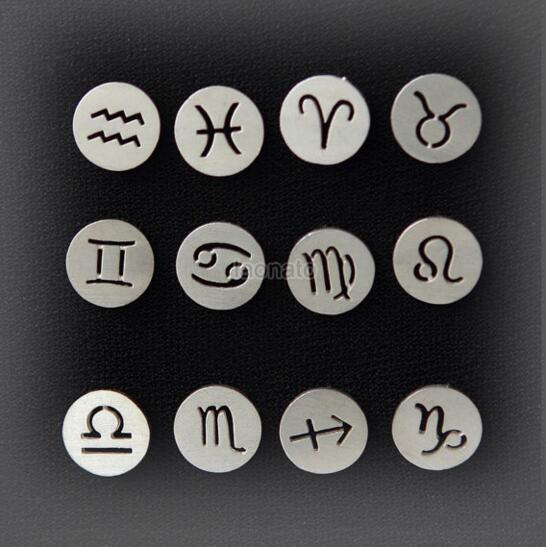 Zodiac Constellation Signs Necklaces (12 Constellation) 4
