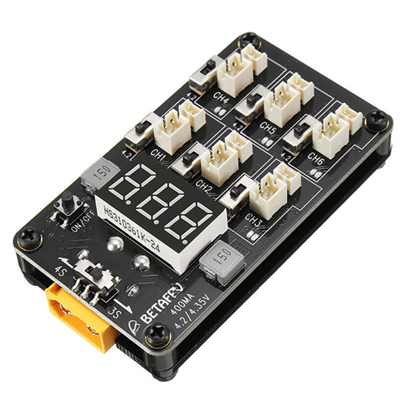 1S Parallel Charger Board XT60 with Dual BEC