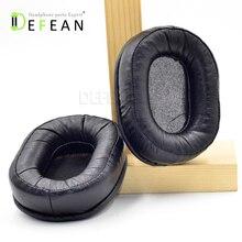 Defean Couro Genuíno ear pads almofada para o Áudio Technica ATH MSR7 MSR 7 Fones De Ouvido