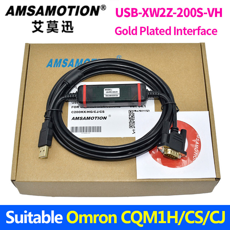 цена на USB-XW2Z-200S-VH Suitable Omron CQM1H/CPM2C/CS/CJ1M Series PLC Programming Cable