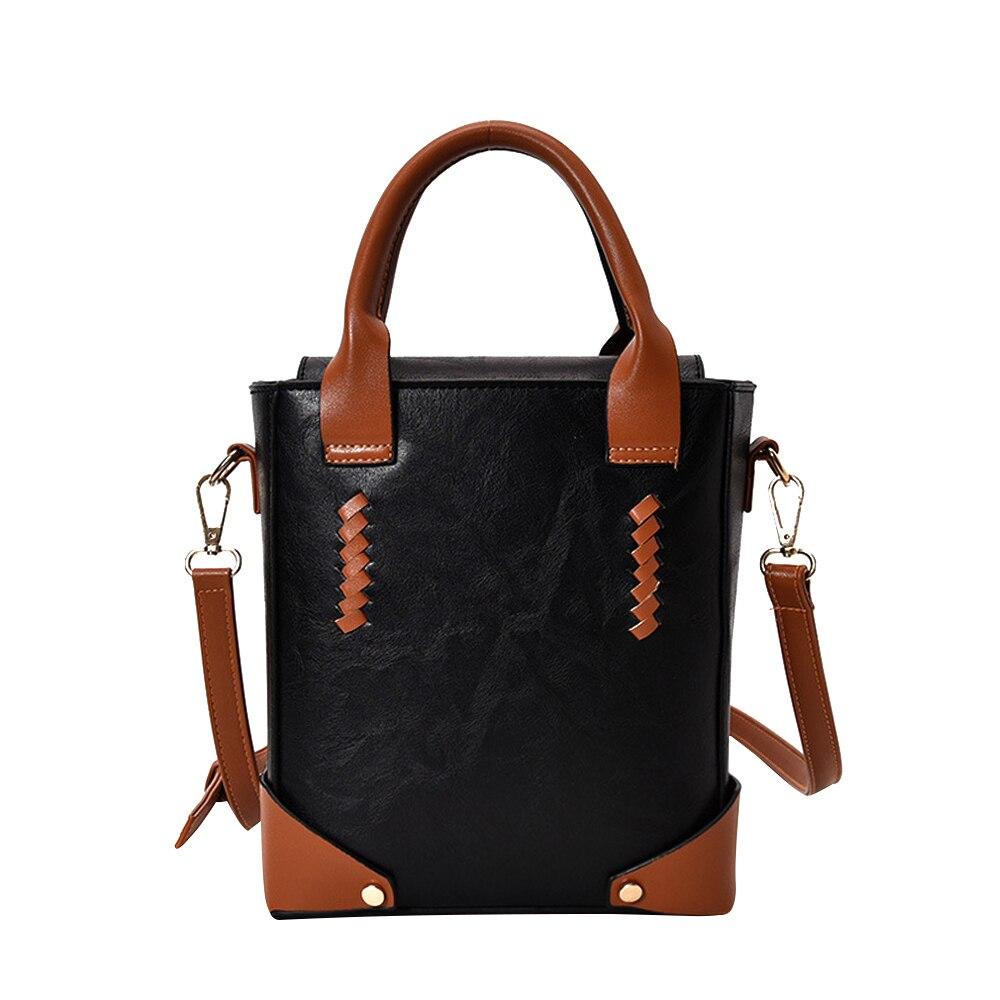 Large Capacity Female Messenger Bags Korean Style Fashion Women Shoulder Bag PU Leather Hasp Handbags For Women