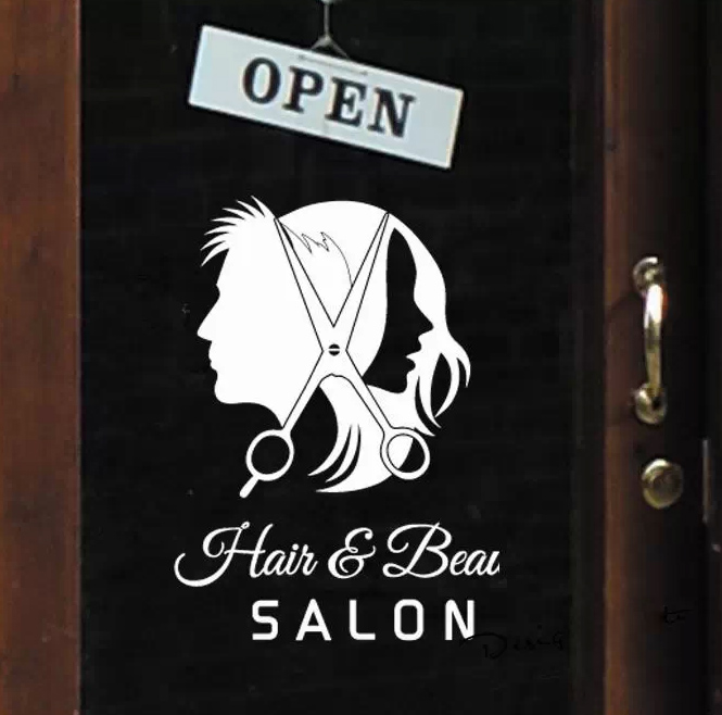 Aliexpress Buy Hairdressing shop dedicated window