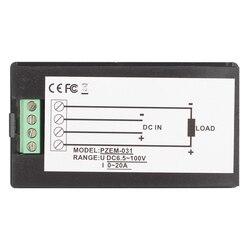 PZEM 031 DC cyfrowy wyświetlacz napięcie prądu moc elektryczny licznik zużycia energii instrument napięcie galwanometr|Mierniki napięcia|Narzędzia -