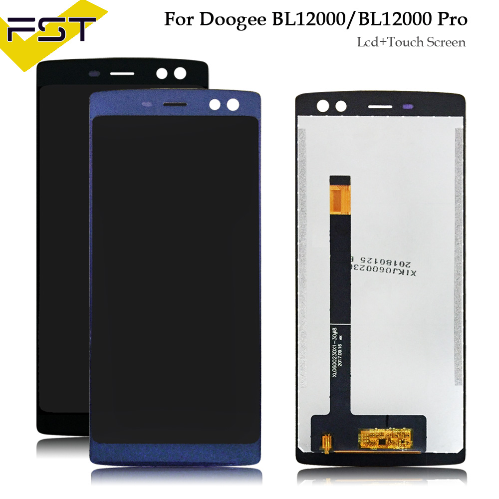 For 6.0 inch Doogee BL12000 BL12000 Pro LCD Display And Touch Screen With Tools And Adhesive Mobile Phone Accessories
