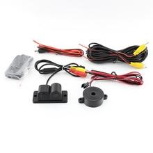 2 in 1 Car Parking Sensors Rear View Backup Camera Universal High Clear Night Vision Reversing Radar