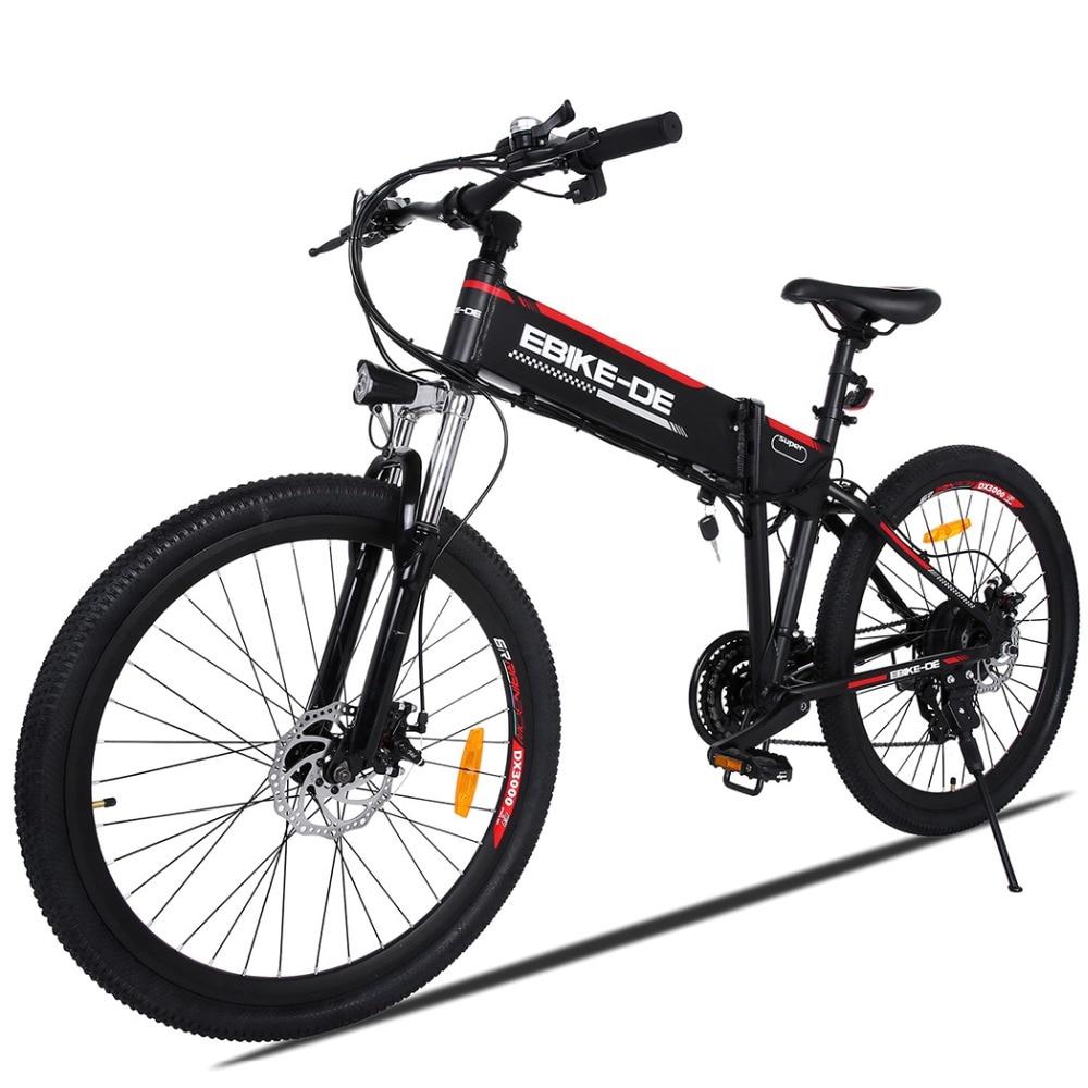 ANCHEER Outdoor Bici Elettrica Batteria Al Litio In Lega di Alluminio Bicicletta Elettrica 250 W Potente Città di Montagna Ebike Spina di UE Per Gli Uomini
