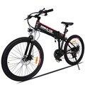 ANCHEER bicicleta eléctrica al aire libre batería de litio aleación de aluminio bicicleta eléctrica 250 W potente montaña ciudad Ebike UE enchufe para hombres