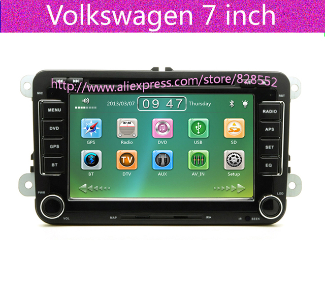 Free Shipping Car DVD For VW GOLF 5 Golf 6 POLO PASSAT B6 CC JETTA TIGUAN TOURAN EOS SHARAN SCIROCCO TRANSPORTER (T5) CADDY GPS