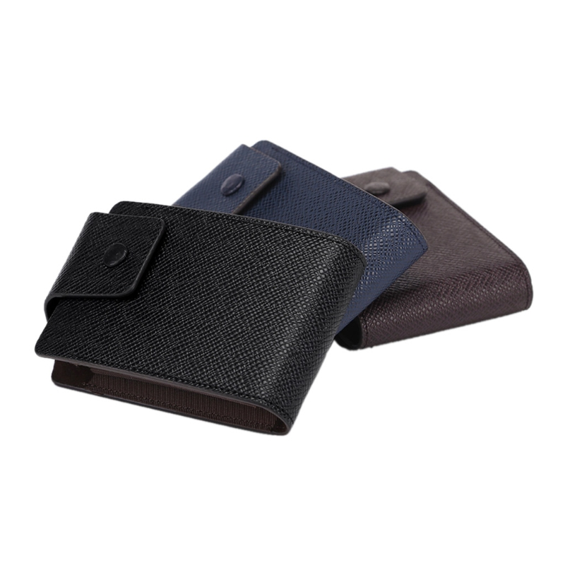 High Quality Fashion Business ID Credit Card Wallet Holder Name Cards Case Pocket Organizer in Card ID Holders from Luggage Bags