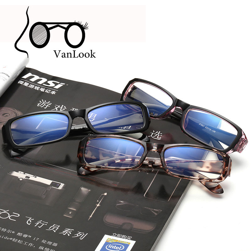 Computer Glasses Anti Blue Ray Transparent Eyeglasses for Women Men Spectacle Frame Oculos De Grau Clear Lens 20pcs/ lot