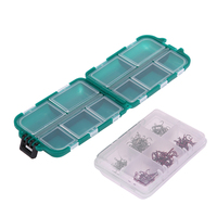 Fishing Tackle Box Fly Fishing Lure Box Plastic Case For Fishing Accessories Hook Bait Lure Carp